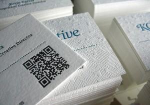 Бумага «лен» для визиток