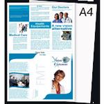 Печать листовок А4