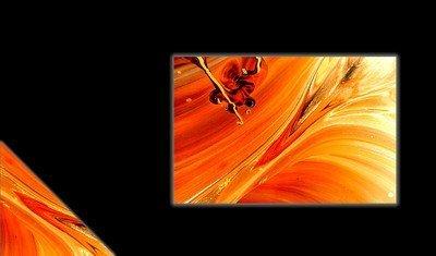 Шаблон визитки абстрактные 9 фон