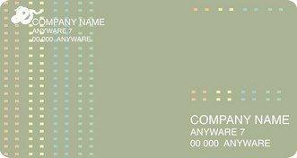 Шаблон визитки 13 дизайнерские